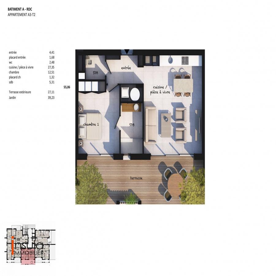 Image_3, Appartement, Porto-Vecchio, ref :100818-A3-B3-20