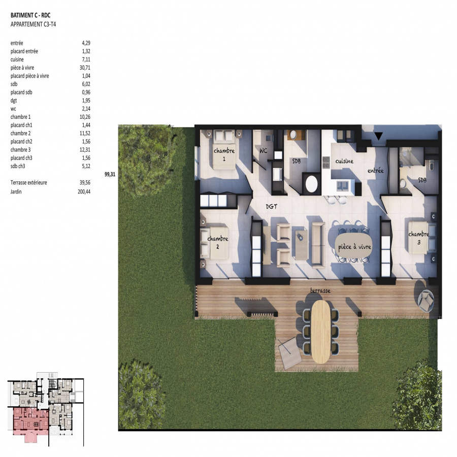 Image_3, Appartement, Porto-Vecchio, ref :100818-C3-20